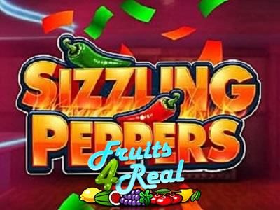 Sizzling peppers gokkast bij fruits4real